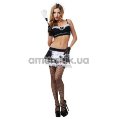 Костюм горничной LeFrivole Maid Costume, чёрный - Фото №1