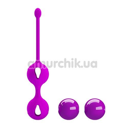Вагинальные шарики Pretty Love Kegel Tighten Up II, розовые