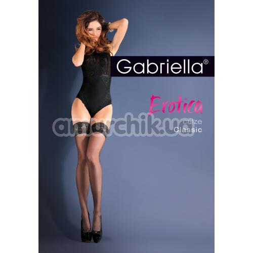 Чулки Gabriella Erotica Calze Classic, чёрные