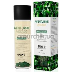 Массажное масло Exsens Aventurine Avocado Massage Oil - авантюрин и авокадо, 100 мл - Фото №1