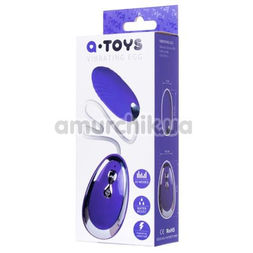 Виброяйцо A-Toys Vibrating Egg Costa, фиолетовое