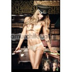 Трусики-стринги женские Gold Lace G-String (модель B939) - Фото №1
