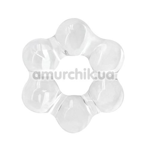 Эрекционное кольцо Renegade Spinner Ring Super Stretchable, прозрачное - Фото №1