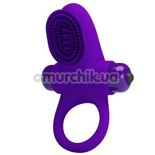 Виброкольцо Pretty Love Vibrant Penis Ring II, фиолетовое - Фото №1
