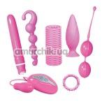 Набор из 7 предметов Smile Crazy Collection, розовый - Фото №1