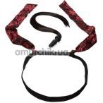 Набор из 2 предметов Scandal Pony Play Kit, чёрно-красный