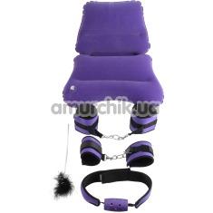 Бондажный набор Fetish Fantasy Series Purple Pleasure Bondage Set, фиолетовый - Фото №1
