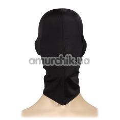 Маска текстильная закрытая Пикантные Штучки, черная