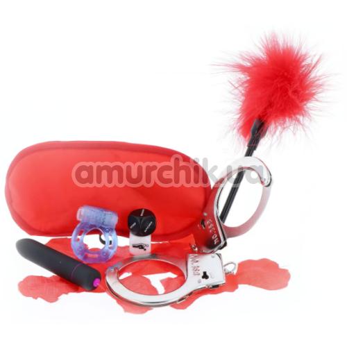 Бондажный набор The Kinky Fantasy Kit, красный