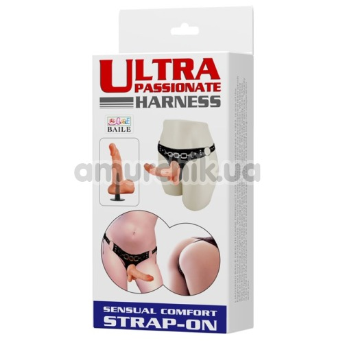Страпон Ultra Passionate Harness 022023, телесный