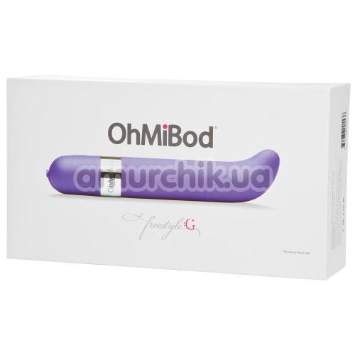 Вибратор для точки G OhMiBod Freestyle G, фиолетовый