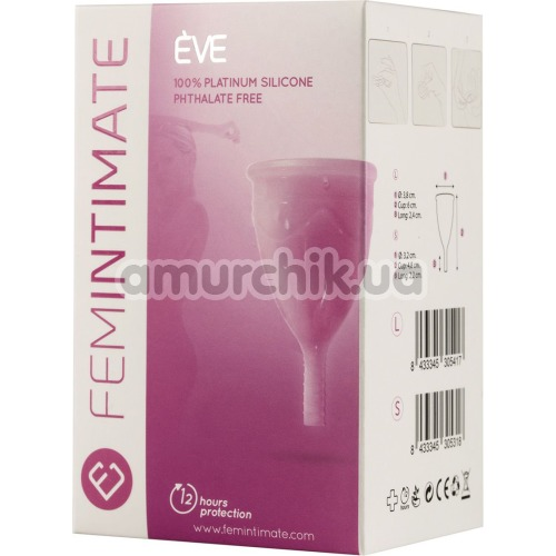 Менструальная чаша Femintimate Eve Cup L, розовая