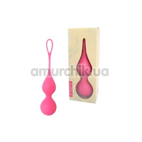 Вагинальные шарики Layla Peonia Kegel Balls, розовые
