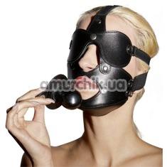 Маска с кляпом Zado, черная - Фото №1