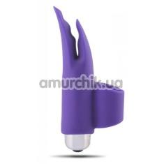 Вибронапалечник Finger Fan Morse, фиолетовый - Фото №1