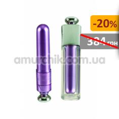 Купить Клиторальный вибратор Discreet Intimates Massager, фиолетовый