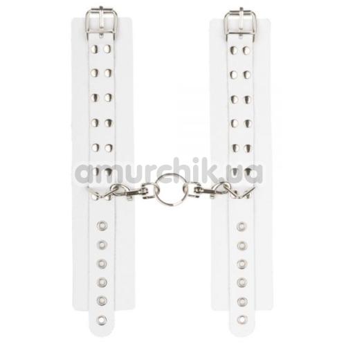 Наручники sLash Leather Rastraints Hand Cuffs, белые