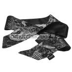 Галстук для связывания Steamy Shades Satin Tie, черный - Фото №1