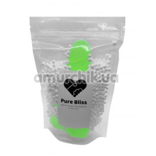 Мыло в виде пениса с присоской Pure Bliss M, зеленое