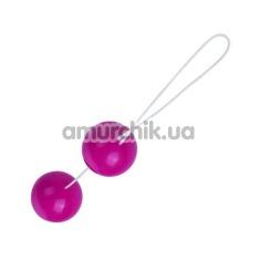 Купить Вагинальные шарики Twin Balls гладкие, розовые