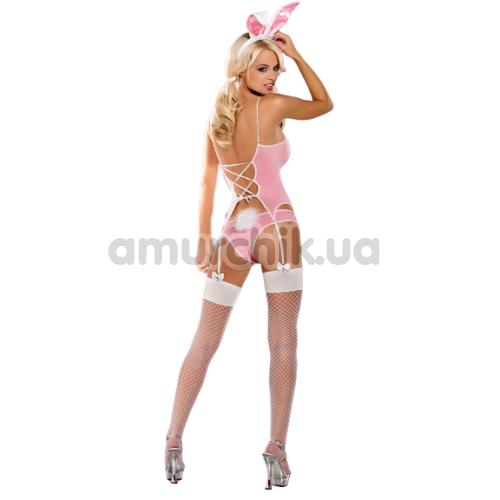 Костюм кролика Obsessive Bunny, розовый