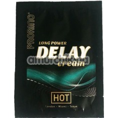 Крем-пролонгатор Prorino long power Delay cream, 3 мл - Фото №1