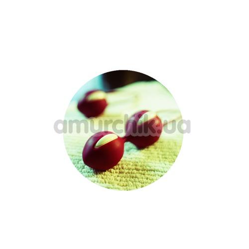 Вагинальные шарики Fun Factory Smartballs Duo, фиолетовые