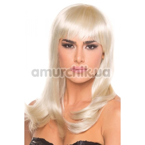 Парик Be Wicked Wigs Hollywood Wig, белый