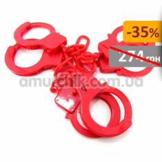 Купить Набор наручников Diversion Trio, 3 шт красные
