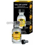 Масло для орального секса с согревающим эффектом Kama Sutra Oil Of Love Coconut Pineapple - кокос и ананас, 22 мл - Фото №1