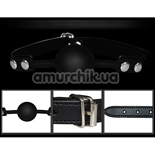 Бондажный набор с кляпом Deluxe Bondage Kit, черный