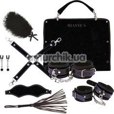 Бондажный набор Rianne S Kinky Me Softly, черный - Фото №1