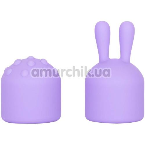 Клиторальный вибратор с насадками Dr. Laura Berman Olivia, фиолетовый