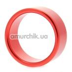 Эрекционное кольцо Hot Metal #1, 4 см красное