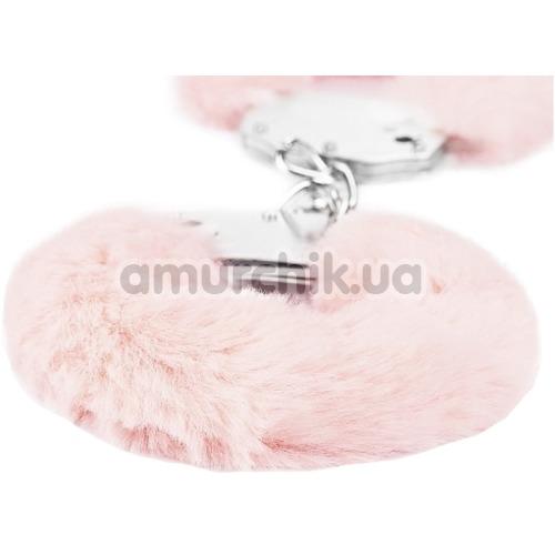 Наручники Fetish Pleasure Fluffy Handcuffs, розовые