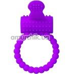 Виброкольцо Silicone Vibro Cock Ring, фиолетовое - Фото №1