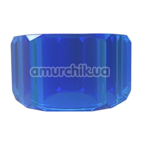 Эрекционное кольцо Get Lock Nust Bolts Cock Ring, синее