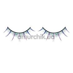 Ресницы Multi-colored Rhinestone Eyelashes (модель 533) - Фото №1