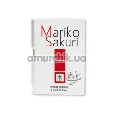 Туалетная вода с феромонами Mariko Sakuri для женщин, 1 мл