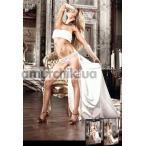 Трусики White Lace Panties, белые (модель B801)
