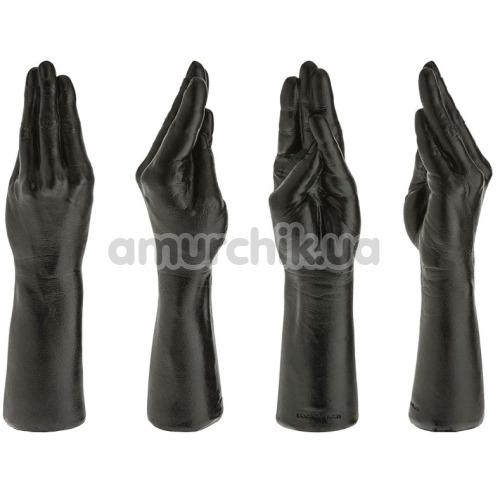 Кисть для фистинга TitanMen The Hand with Vac-U-Lock, черная
