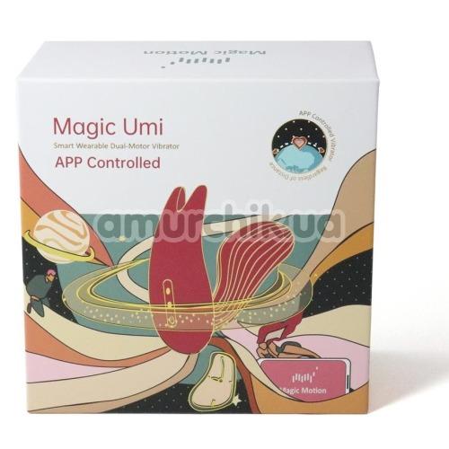 Вибратор Magic Motion Magic Umi, красный
