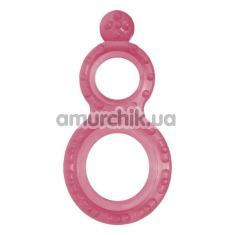 Эрекционное кольцо Grass&Co Ring, розовое - Фото №1