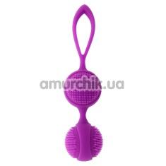 Вагинальные шарики iGox Lalo, фиолетовые - Фото №1