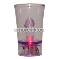 Стаканчик-прикол для шотов Frecher Kurzer, фиолетовый