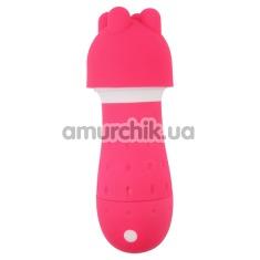 Универсальный массажер Pressure Activated Super Mushroom, розовый - Фото №1