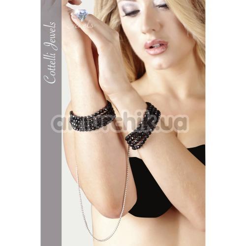Фиксаторы для рук Cotelli Collection Jewels 245032, черные