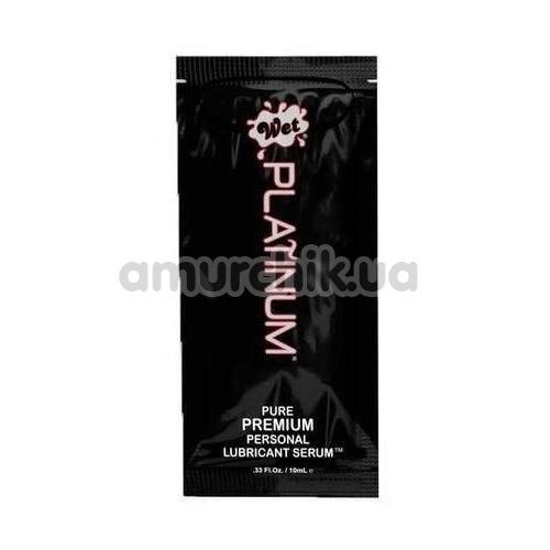 Лубрикант Wet Platinum Premium Lubricant Serum, 10 мл - Фото №1