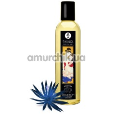 Массажное масло Shunga Erotic Massage Oil Seduction Midnight Flower - полуночные цветы, 250 мл - Фото №1