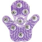 Универсальный массажер Simple & True Roller Balls Massager, фиолетовый - Фото №1